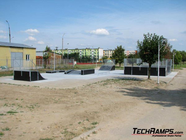 Skatepark in Polaniec