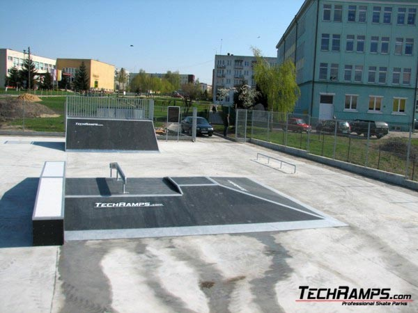 Skatepark in Poniatowa