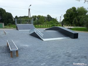 Skatepark in Prestige technology in Orzysz