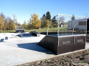 Skatepark in Prestige technology Żelechlinek