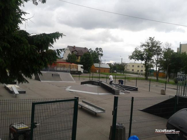 Skatepark in Przasnysz - expansion