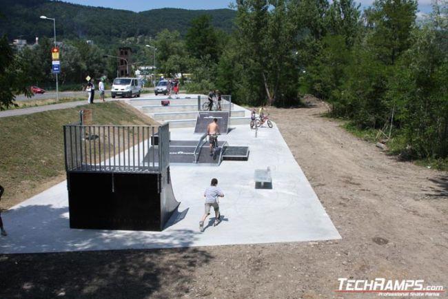 Skatepark in Puchov - Slovakia