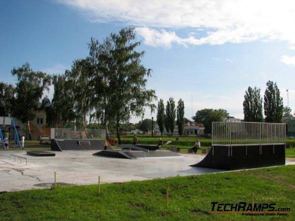 Skatepark in Pultusk