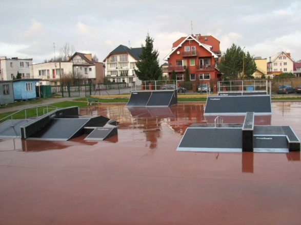 Skatepark in Rewal