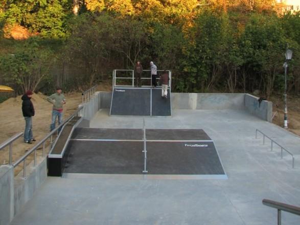 Skatepark in Sandomierz