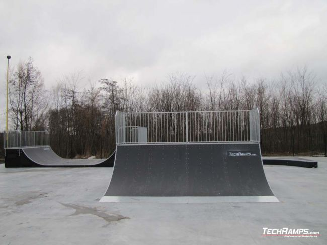 Skatepark in Ślesin