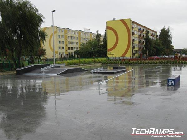 Skatepark in Slupca