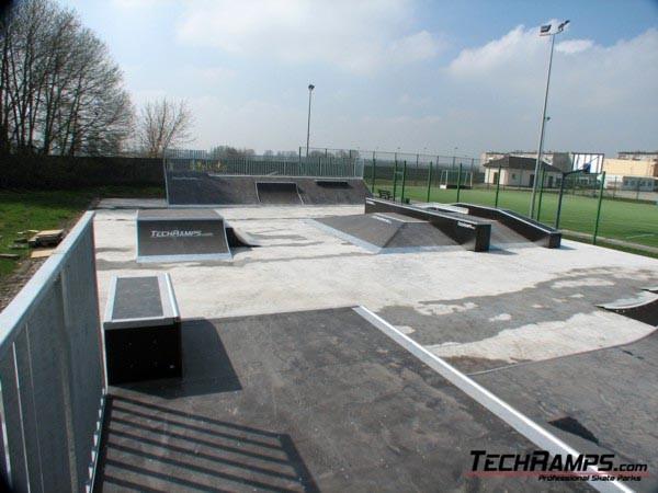 Skatepark in Sroda Wielkopolska