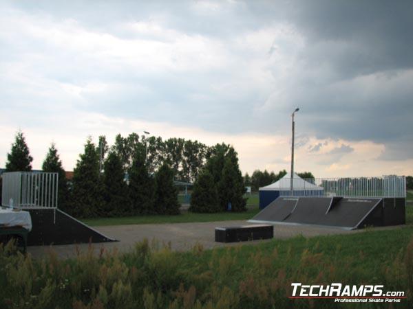 Skatepark in Steszew
