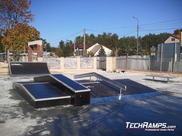 Skatepark in Suchedniow