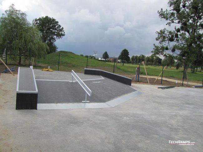 Skatepark in Suszec