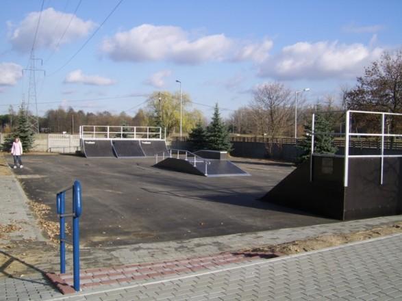 Skatepark in Tomaszów Mazowiecki