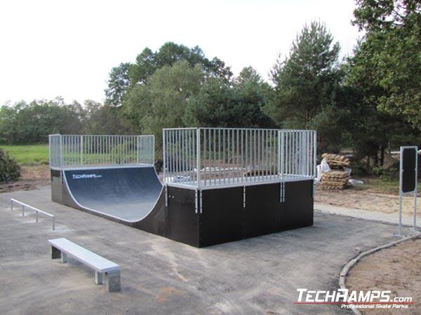 Skatepark in Warszawa-Bialoleka