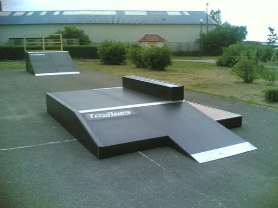 Skatepark in Zalewo
