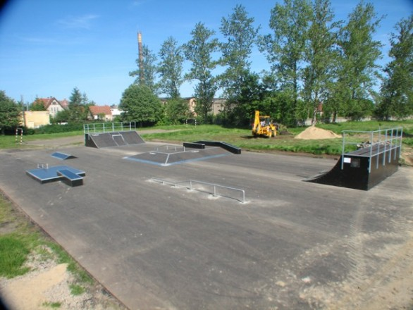 Skatepark in Złocieniec