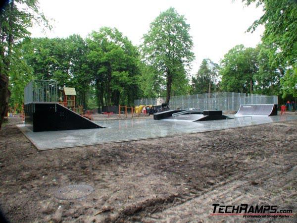 Skatepark in Zwierzyniec