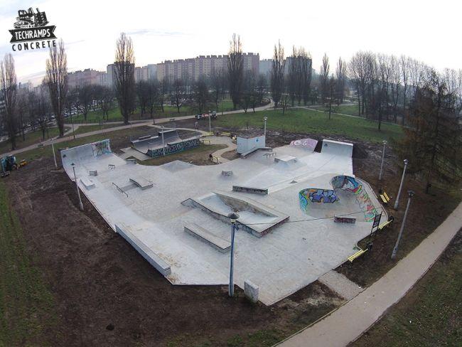 Skatepark Kraków Mistrzejowice