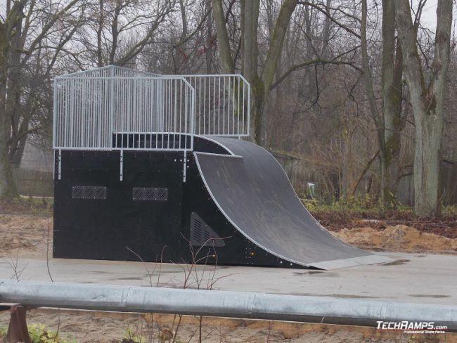 Skatepark Krasnoznamiensk (Rosja)