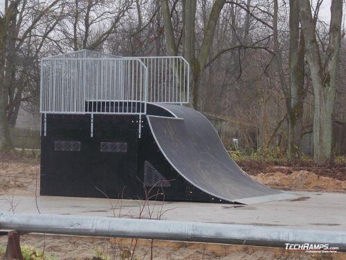 Skatepark Krasnoznamiensk (Russia)