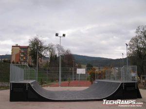 Skatepark Krynica Zdrój Minirampa