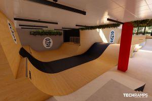 Skatepark kryty