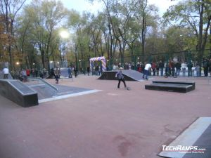 Skatepark Krzywy Róg panorama