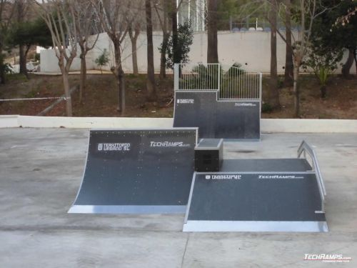 Skatepark Manilva (Hiszpania)