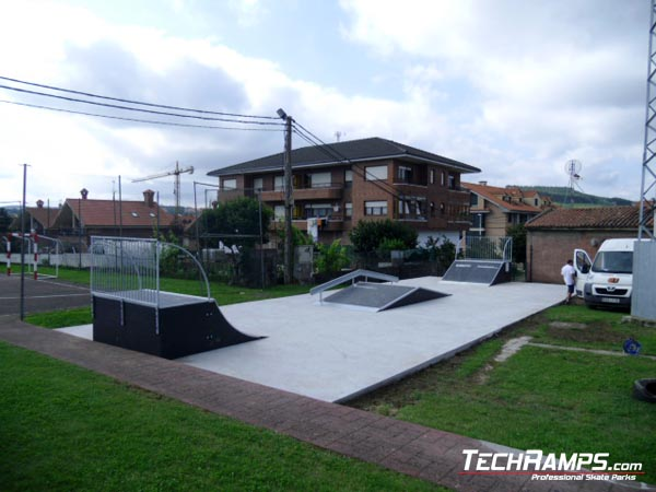 Skatepark Meruelo - Hiszpania