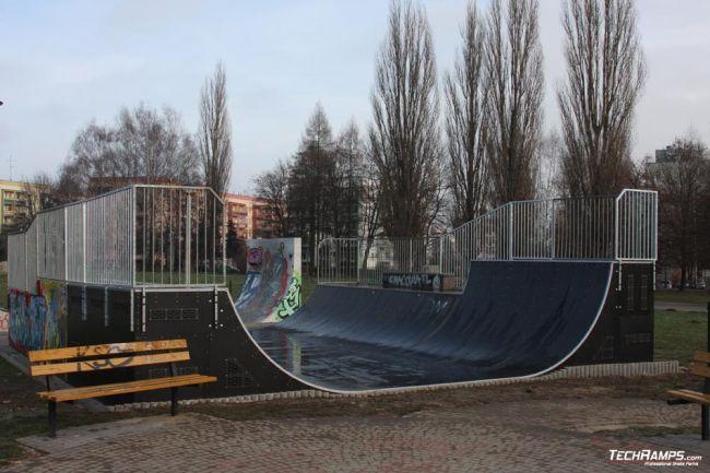 Skatepark Mistrzejowice - Miniramp