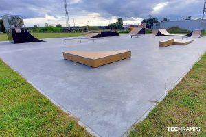 Skatepark modulable