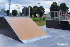 Skatepark modulable de Kargowa