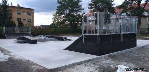 Skatepark modułowy - Iłowa