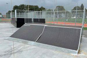 Skatepark modułowy Techramps