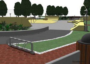 Skatepark Myślenice - ostateczny - 2
