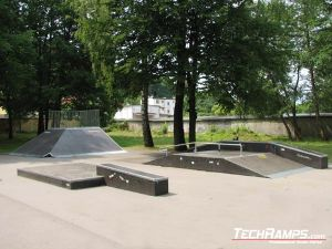 Skatepark - Nidzica - 2