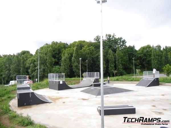 Skatepark Olot - Hiszpania