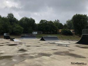 Skatepark Poznań - Techramps