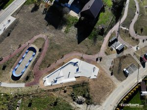 Skatepark, pumptrack, minirampa - Maniowy