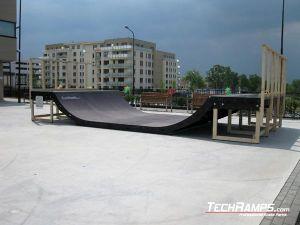 Skatepark Radom na lodowisku
