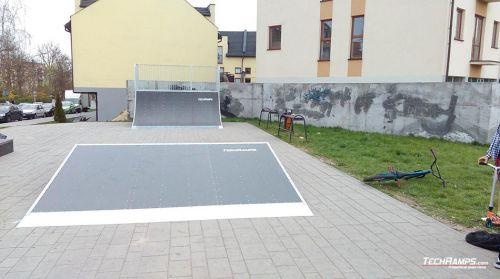 Skatepark Skawina - rozbudowa