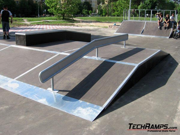 Skatepark Slawuticz - Ukraina