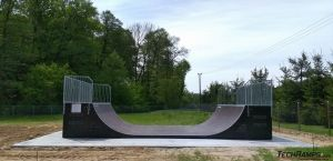 Skatepark Słupno - minirampa