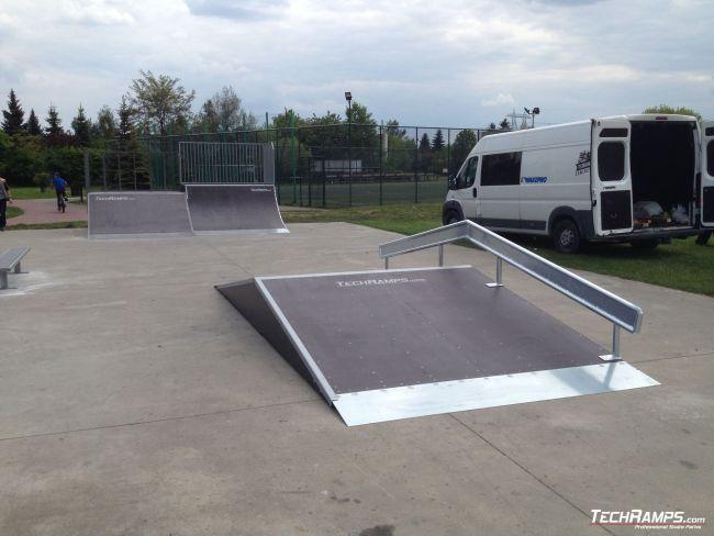 Skatepark Starachowice (rozbudowa)
