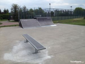 skatepark Starachowice (rozbudowa) - 2