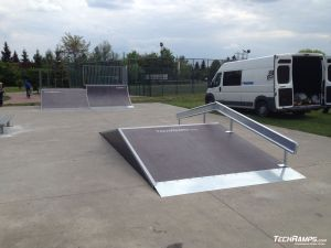 skatepark Starachowice (rozbudowa) - 3
