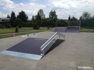 skatepark Starachowice (rozbudowa) - 4