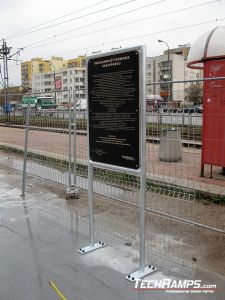 Skatepark Tablica informacyjna