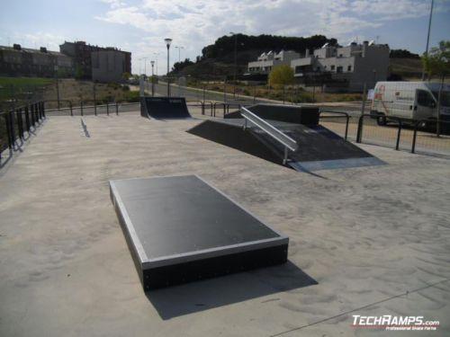 Skatepark Viana (Spain)