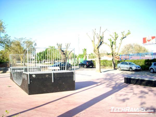 Skatepark Villarejo de Salvanes - Hiszpania
