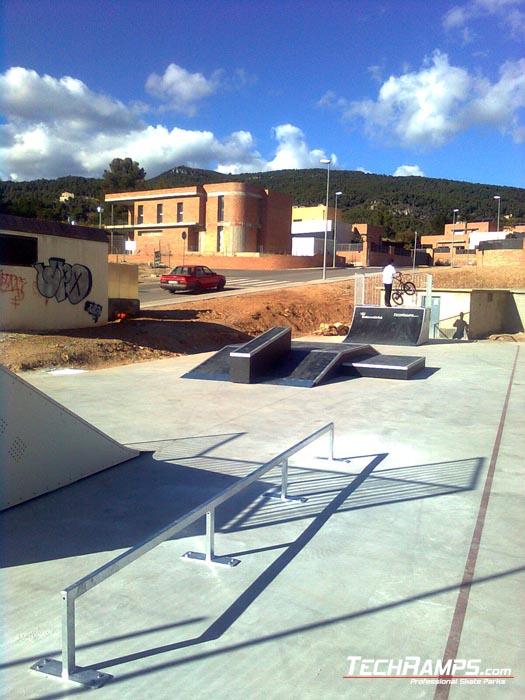 Skatepark w Alcover - Hiszpania